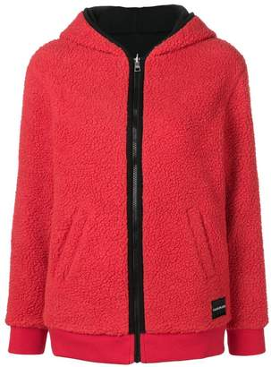 Calvin Klein Jeans reversible zipped-up hoodie