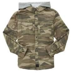 Camo Borg Lined Jacket