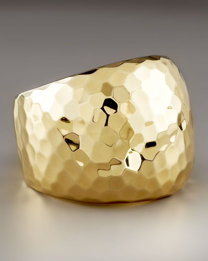 Roberto Coin Hammered Martellato Ring