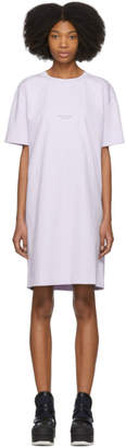 Acne Studios Purple Joupa T-Shirt Dress