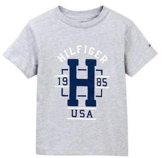 Tommy Hilfiger Cored Short Sleeve Tee (Little Boys)
