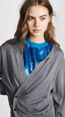 Toga Pulla Spangle Knit Cardigan