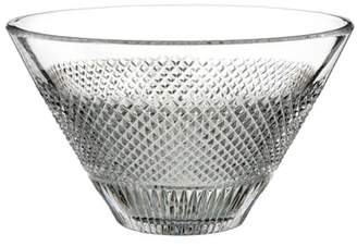 Waterford Diamond Line Lead Crystal Bowl