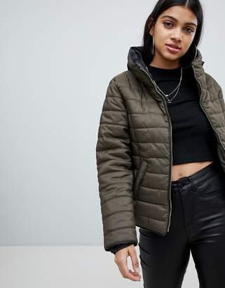AX Paris Padded High Neck Jacket