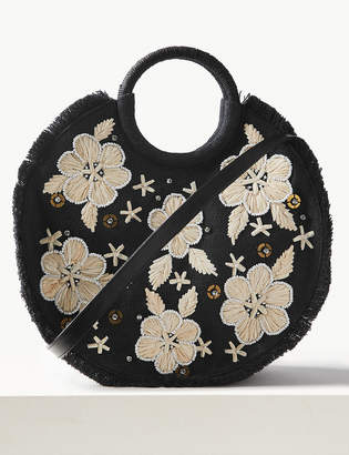 Marks and Spencer Floral Circle Cross Body Bag