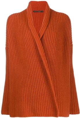 Incentive! Cashmere ribbed cardigan
