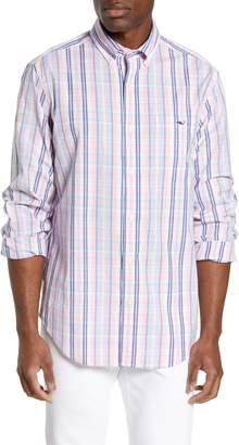 Vineyard Vines Tucker Regular Fit Plaid Sport Shirt