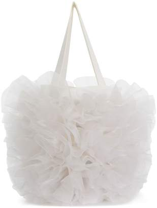 Comme des Garcons ruched tote