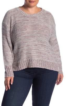 Susina Marled Knit Sweater (Plus Size)
