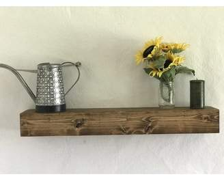 Essex Hand Crafted Wood Products Reclaimed Wood Floating Shelf