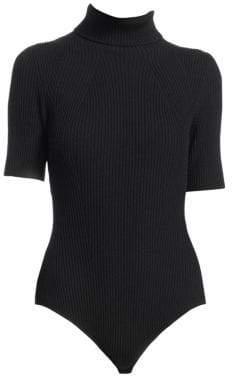 3.1 Phillip Lim Ribbed Turtleneck Bodysuit
