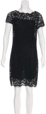 Ralph Lauren Lace Knee-Length Dress