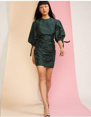 Cynthia Rowley Andi Ruched Mini Dress