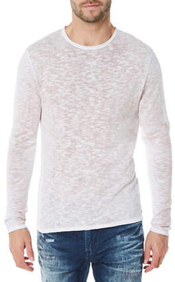 Buffalo David Bitton Heathered Long Sleeve Tee