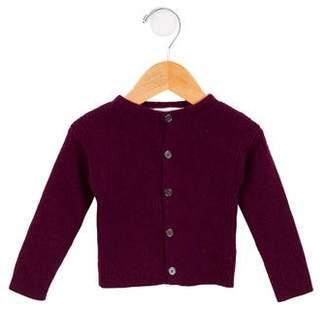 Burberry Girls' Cashmere Knit Cardigan