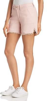 Jag Jeans Cadet Pom-Pom-Trim Shorts