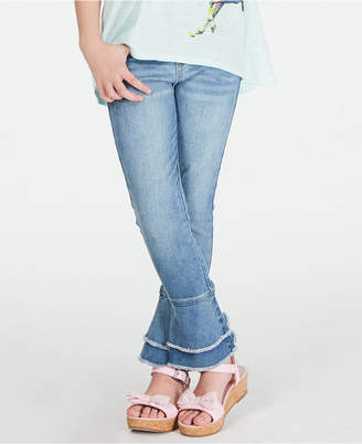 Epic Threads Big Girls Frayed Bell Bottom Jeans