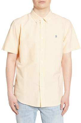 Obey 89 Icon II Slim Fit Stripe Oxford Shirt