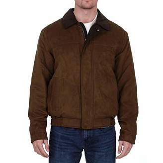 Co Weatherproof Garment Men's Microsuede Filled Bomber Jacket