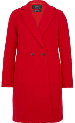 J.Crew Daphne Wool-felt Coat - Red