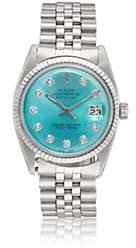 Rolex Vintage Watch Women's 1966 Oyster Perpetual Datejust Watch - Orange