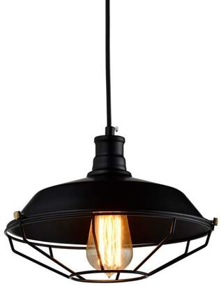 Industrial Style Cage Pendant Light