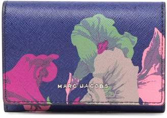 Marc Jacobs Printed Bifold Leather Wallet