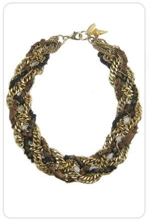 Candace Ang Revolution Collar in Toast
