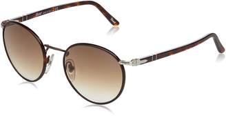 Persol PO2422SJ Sunglasses-992/51 Matte Brown (Crystal Brown Gradient Lens)-49mm