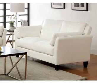 Furniture of America Roseanne II Contemporary Loveseat, Multiple Colors