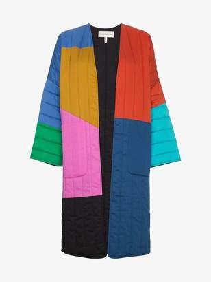 Mara Hoffman Multicoloured reversible temple coat