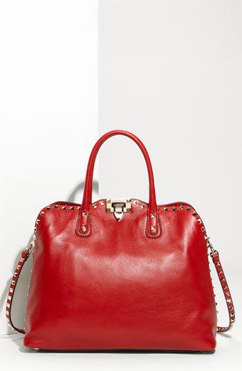 Valentino 'Rockstud' Dome Handbag