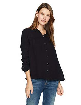 Velvet by Graham & Spencer Women's Monty Winter Gauze Shirt