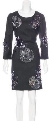 Tory Burch Wool Embellished Dress