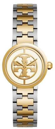 Tory Burch Reva Logo Dial Bracelet Watch, 28mm