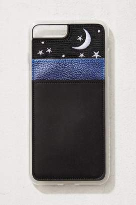 Zero Gravity Night Sky Wallet iPhone Case