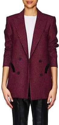 BLAZÉ MILANO Women's Everyday Plaid Wool Blazer - Pink