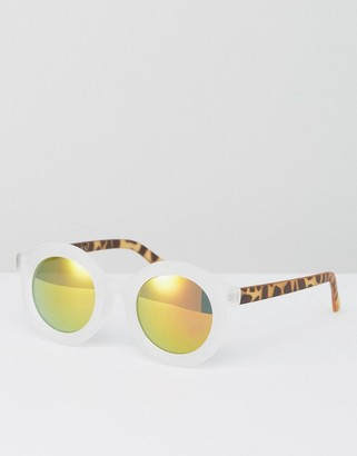 AJ Morgan Clear Frame Sunglasses $19 thestylecure.com