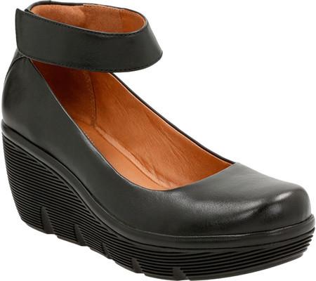 ClarksWomen's Clarks Clarene Tide Ankle Strap Wedge Shoe