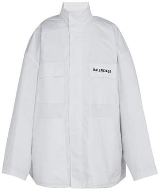 Balenciaga Technical Jacket - Mens - White