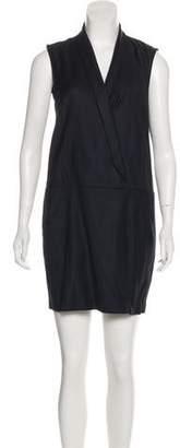 MM6 MAISON MARGIELA Sleeveless Wool-Blend Dress