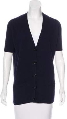 Acne Studios Wool Short Sleeve Cardigan