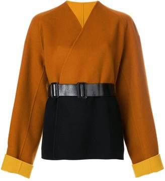 Bottega Veneta reversible caban coat