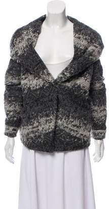 Rebecca Minkoff Hooded Textured Sweater