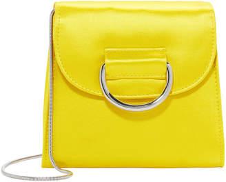 Little Liffner Tiny Box Satin Yellow Bag