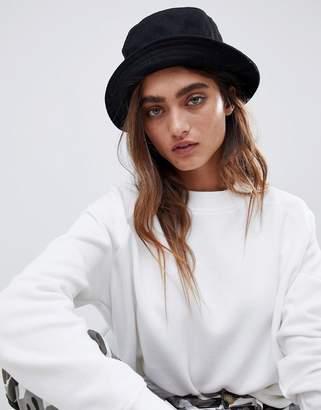 Asos DESIGN wool bucket hat