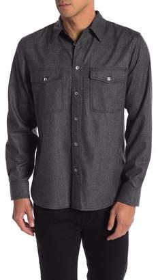 Rag & Bone Jack Wool Blend Shirt