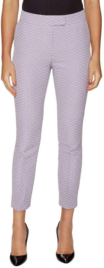 Orla Kiely Women's Flower Spot Jacquard Cropped Trousers