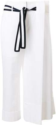 Thom Browne oversize pleat detail trousers