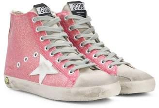 Golden Goose Kids Superstar hi-top sneakers